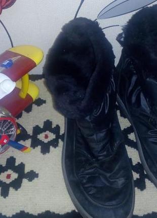 Классные сапожки на мороз и слякоть