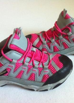 Демисезонные ботинки ecco с мембраной gore-tex р.28-29 стелька 18,5 см