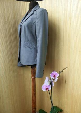 Серый жакет  фрэнч в деловом стиле / офисный mexx3