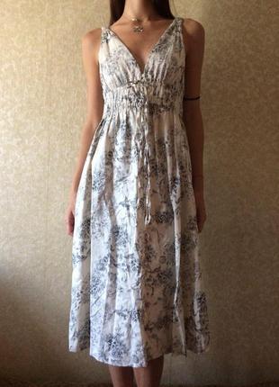Платье zara basic длинное