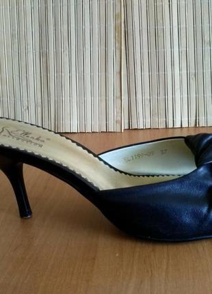 Элегантные босоножки на среднем каблуке ellenka, 37