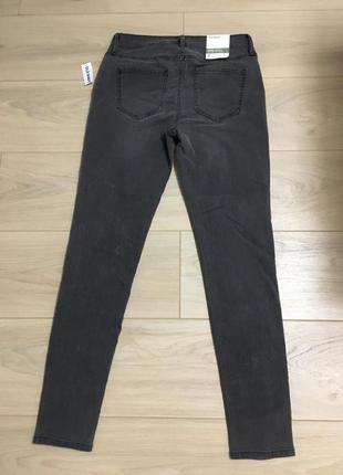 Новые джинсы серые old navy