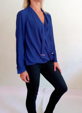 Легкая блуза на запах