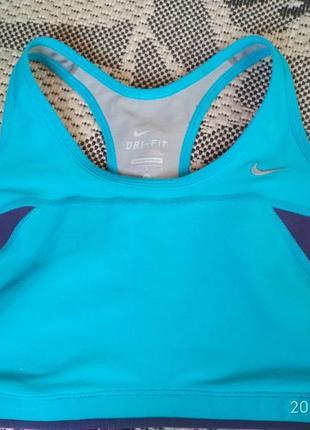 Nike dri-fit топ для спорта р. л