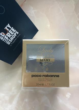 Paco rabanne lady million lucky edp 50ml оригинал