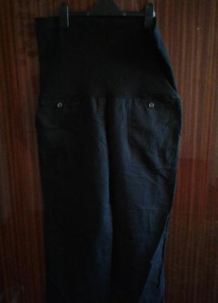Легкие штаны с трикотажным поясом