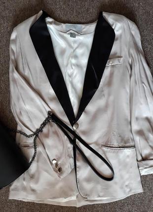 Пиджак, жакет, бельевой стиль. пижамный стиль
