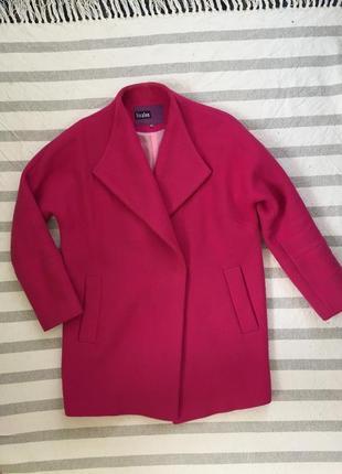 Идеальное бойфренд пальто оверсайз цвет фуксии