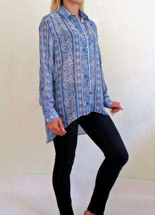 Приятная шифоновая блуза 10