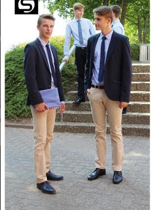 Стильный новый пиджак для мальчика gol® германия р.176,синий