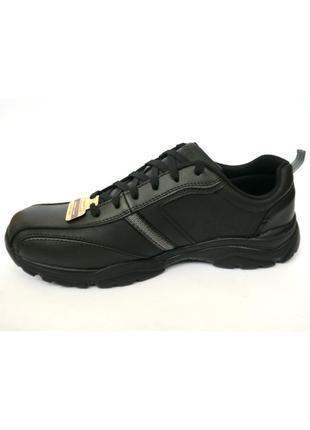 32.0 черные кроссовки туфли skechers rovato - larion оригинал 43 29.5см 45.5 32см 48.5