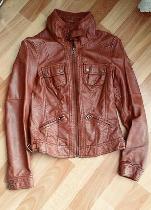 Куртка из эко кожи colin's