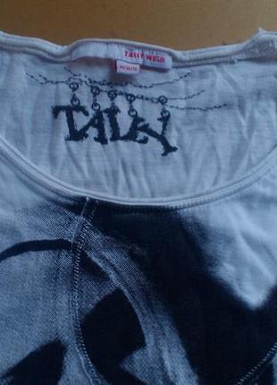 Удлиненная футболка telly weijl