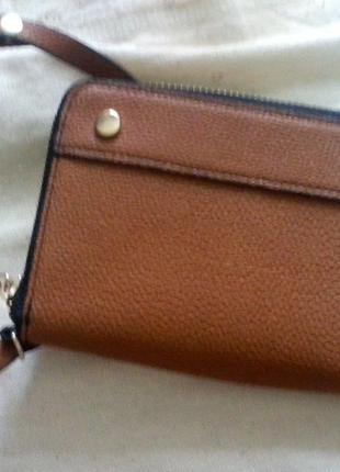 Клатч -портмоне  с ремешком