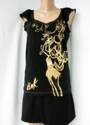 Новая стильная брендовая футболка new look размер uk14/46(l)