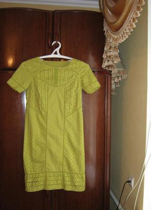 Платье marks&spencer, 100% хлопок прошва , размер s/m