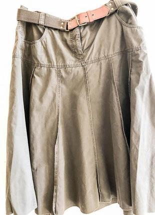 Оригинальная расклешенная юбка esprit