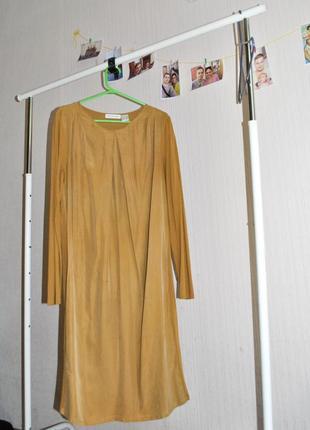 Шикарное шелковое платье для беременных