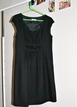 Шерстяное платье promod