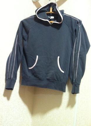 Тоненькая флиска.* флисовый свитер спортивный с капюшоном худи толстовка кофта  батник