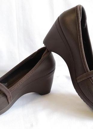 Туфли crocs (размер 38-38,5 (w9))