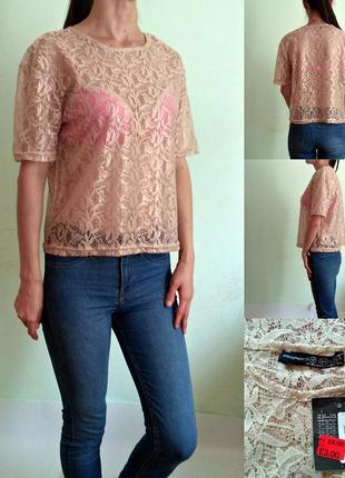Кружевная блуза 12