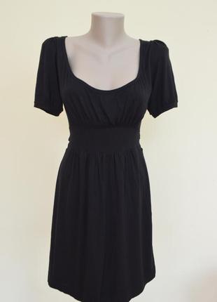 Черное мини платье от zara