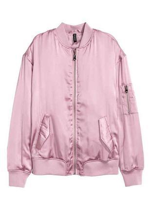Стильная куртка-бомбер h&m 12uk англия