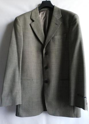 Стильный мужской пиджак английского бренда george , l-xl, сток из европы