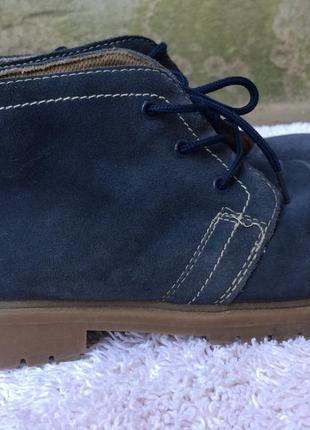 Тімберленди, броги, черевички замшеві