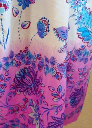 Красивое платье в цветы. размер 14-184