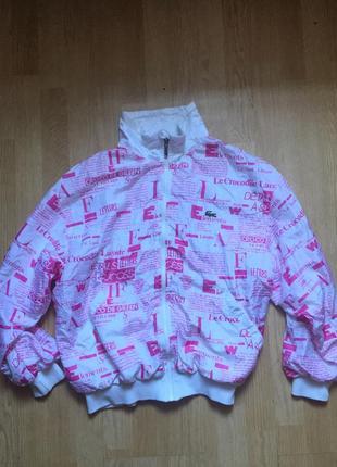 Куртка олимпийка lacoste