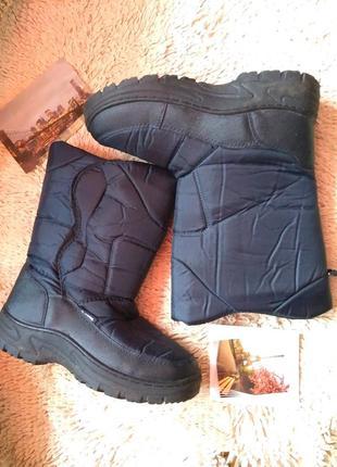 Ботинки сапоги berg на липучке outdoor 41 - 42 р 26 см теплые