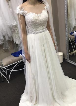 Свадебное платье итальянского бренда lucciano bridal