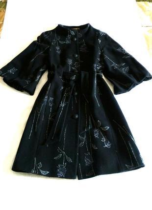 Красивейшее,фирменное, кашемировое, демисезонное пальто cоrrera