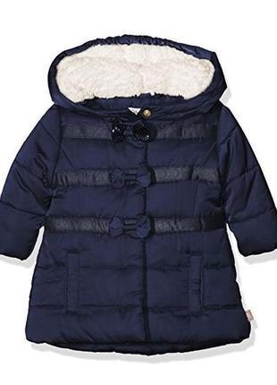 Новая курточка синяя для девочки, billieblush, 06064