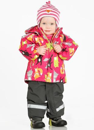 Зимний комплект костюм jonathan финляндия 80-86 рр очень теплый