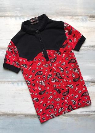 Дизайнерская футболка поло fred perry amy winehouse