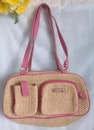 Соломенная сумка от fiorelli