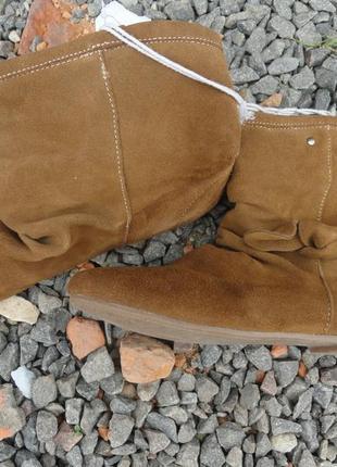 Замшевые ботинка esmara 38р.