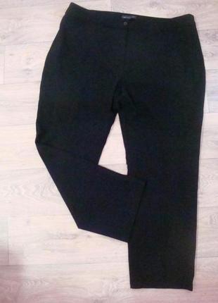 Классические брюки заужены к низу. размер 18-22