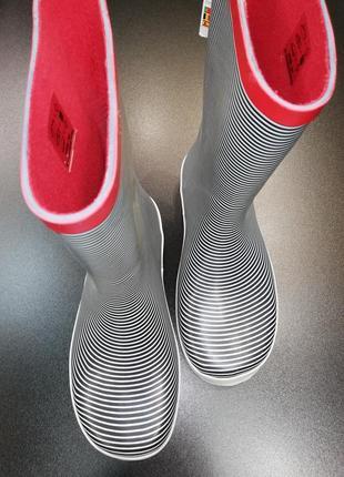 Сапоги резиновые с текстильной подкладкой du pareil au même (dpam), р. 34 (22,3 см.)