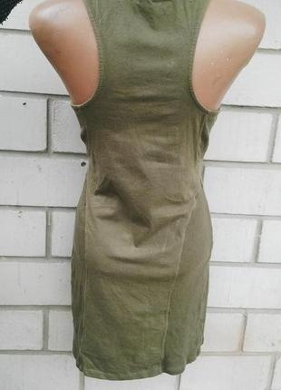 Платье asos хлопок,майка