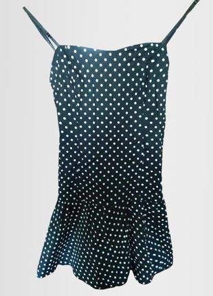 Короткое платье в горошек tally weijl
