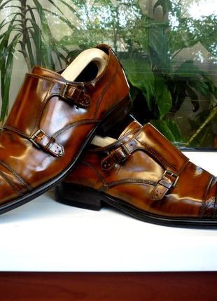 """Непревзойденный дизайн и качество! туфли - монки """"bertie"""". англия. 43 р."""
