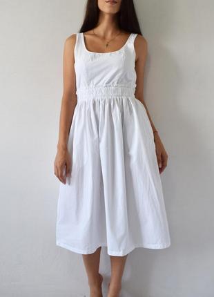 Платье с красивой спинкой zara
