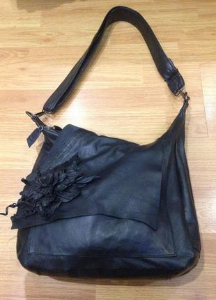 Кожаная сумка 100% кожа