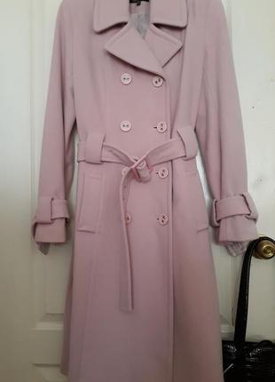 Роскошное пальто кашемир, шерсть, англия