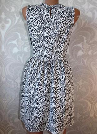 Платье с кожаными вставками new look р. м