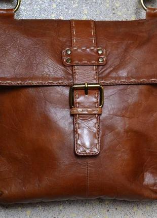 Debenhams сумка на длинном ремне из натуральной кожи